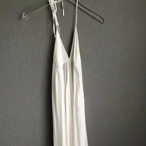 Victoria Secret long nightgown silk Halter dress